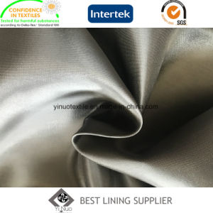 55% Polyester 45% Viscose Soft and Shiny Two Tone Satin Lining 108 GSM pictures & photos
