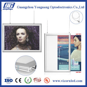 Manufacturing Double-sided Hanging Poster frame-YS004