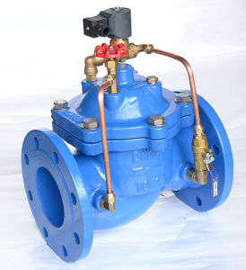 Electrically Operated Pressure Control Valve, 600X pictures & photos