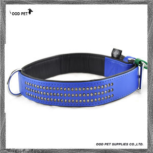 Royal Blue Rows of Crystals Pet Products, Pet Collars, Dog Collar (SPC7025) pictures & photos