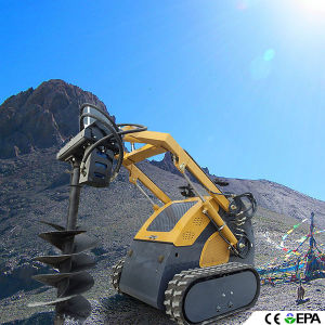 Mini Skid Steer Loader with B&S Engine 23HP pictures & photos