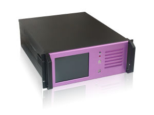 RPC-919-4U 19 Inch Industrial Chassis With 10 Hard Disk Trays