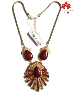 Fashion Necklace for Lady, Fashionable Design Ol Necklace Factory Wholesale