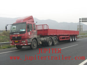 Side Wall Dropside Three Axle Semi Trailer