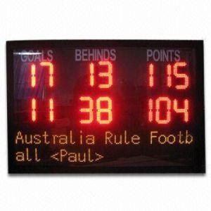 LED Score Display/LED Score Board/LED Score Panel/LED Score Sign (SY-SB001)