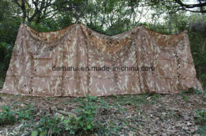 Military Desert Camo Netting Fire Retardant pictures & photos