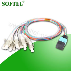 Single Mode Duplex Fiber Optic 12 Cores Patch Cord pictures & photos