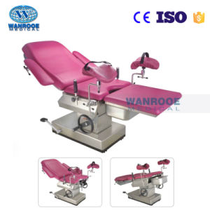a-C102D2 Height Adjusted Hydraulic Pump Control Obstetric Table Delivery Bed pictures & photos