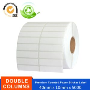 Blank Coated Paper Adhesive Labels