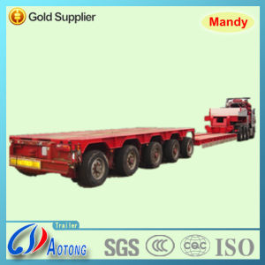 5 Axles Hydraulic Steering Lowbed Modular Trailer pictures & photos