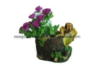 Resin Flower Planter (ST8552)