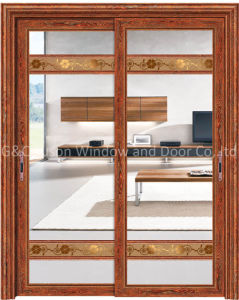 Top Quality Interior Decorative Aluminum Sliding Door pictures & photos