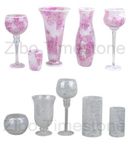 Art Mosaic Glass Vases (TM1815) pictures & photos