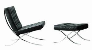 Barcelona Chair (A-288+Ottoman)