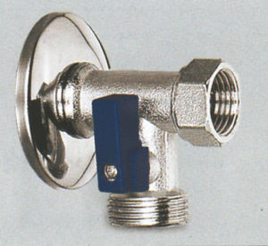 Brass Angle Valve for Washing Machine (KX-AV2103) pictures & photos