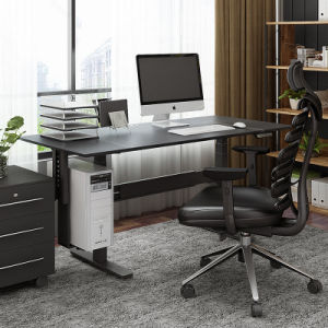 Office Sit Stand Desk with Hieght Djustment for Office Workstation pictures & photos