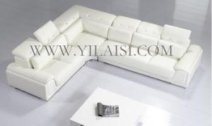Corner Leather Sofa (T93C)