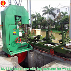 Mj3212 Large Wood Band Saw Timber Machine pictures & photos