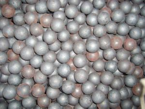 Forged Grinding Media Ball 60mn Material pictures & photos