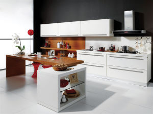 Contemporary Hight Gloss Lacquer Kitchen Cabinets for Sale pictures & photos