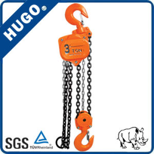 5 Ton Hs-Vt Hand Pulling Block with Chain G80 pictures & photos