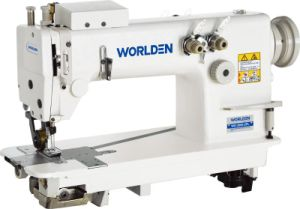 WD-3820PL Two Needle Chainstitch Sewing Machine With Puller. pictures & photos