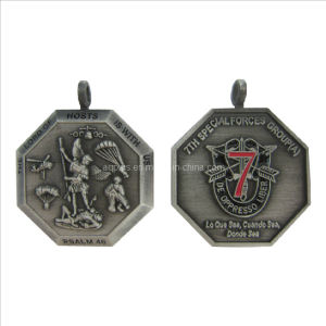 Soft Enamel Military Medallions with 3D Logo pictures & photos