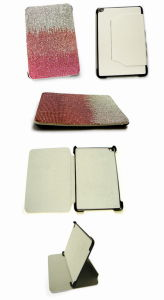Crystal Diamond Gradient for iPad Mini Leather Case (iPad005)