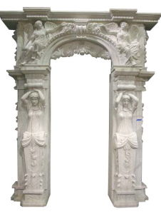 Stone Carving Door Arch (DF316) pictures & photos
