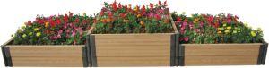 WPC Wood Plastic Composite Planter Pot (YZS14038A-60)