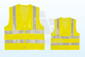 Jy-7003 Road Maintenance Workers High-Visibility Reflective Safety Vest pictures & photos