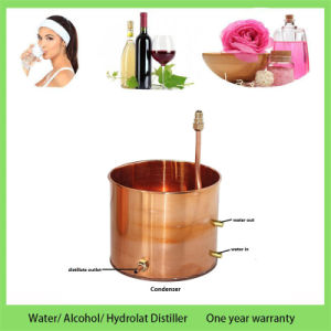 Kingsunshine 30liter 8gallon Copper Distillation Equipment Household Water Alcohol Hydrosol Distiller pictures & photos