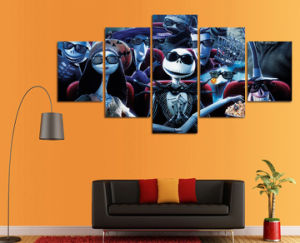 HD Printed Nightmare Before Christmas Painting Canvas Print Room Decor Print Picture Canvas Decoration Mc-144 pictures & photos