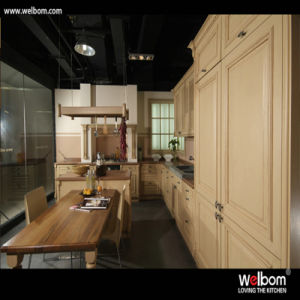 Welbom American Luxury Solid Wood Kitchen Cupboard pictures & photos