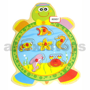 Wooden Frog Puzzle (80907) pictures & photos