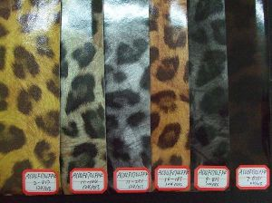 PU Leather Shoe and Bag Leather (AC04F070LFPK)