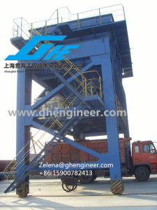 Rail Type Hopper for Loading The Bulk Cargo on Truck pictures & photos