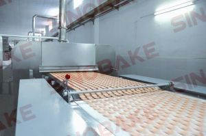 Biscuit Machine Cooling Conveyor pictures & photos