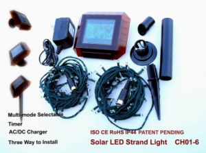 Holiday Decoration Solar String Light with CE and RoHS Certification pictures & photos