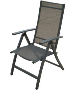 Adjustable Patio Sling Folding Chair