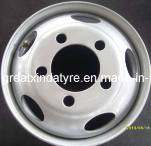 Truck Tyre Wheel Rims, Steel Wheel, Tubeless Steel Rims pictures & photos