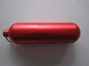 Pill Shape USB Flash Drive Customized Logo Accepted! (OM-P2089) pictures & photos