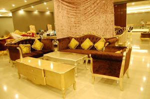 European Style Gilding Living Room Sofa Set (A11012)