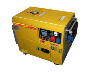 5kw Silent Diesel Generator Set with Three Phase ATS Device pictures & photos