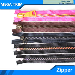 3-12# All Size Metal Zipper Open-End pictures & photos