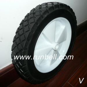 Solid Rubber Lawn Mower Wheels and Rims