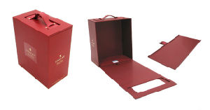 Luxury High Quality Paper Wine Box (YY-W0103) pictures & photos