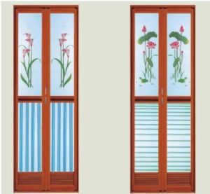 Interior Frosted Glass Bi-Fold Doors (pH-8856) pictures & photos