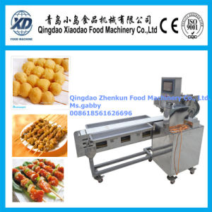 Automatic Sleeve Fish Kebab Wearing Machine pictures & photos