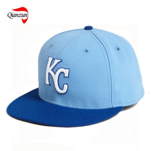 Embroiderey Flat Brim Baseball Cap pictures & photos